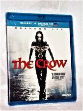 The Crow (Blu-ray, 2012) Brandon Lee Rochelle Davis Michael Wincott Alex Proyas