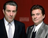 "ROBERT DE NIRO AND JOE PESCI IN ""GOODFELLAS"" - 8X10 PUBLICITY PHOTO (BB-394)"