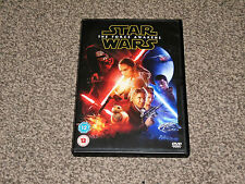 STAR WARS : THE FORCE AWAKENS - DVD IN VGC (FREE UK P&P)