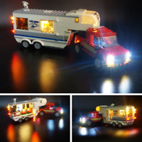 Led Light Set For LEGO 60182 City Series Pickup & Caravan Building Blocks 60182