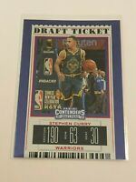 2019-20 Contenders Draft Picks Basketball Red Foil - Stephen Curry - Warriors