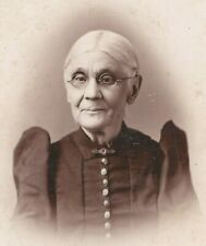 DRACULAS MOTHER, GOTHIC DRESS, FACTORYVILLE PA., VICTORIAN WOMAN, CABINET PHOTO