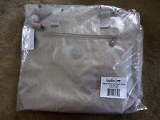 KiplingTM5452 Smake Print Metallic ZALIKI LARGETOTE Weekender SHOULDER BAG $124