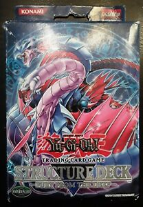 Yugioh FURY FROM THE DEEP Structure Deck OPENED