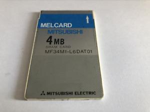 MELCARD MITSUBISHI   4MB SRAM  PCMCIA SRAM Card  <no battery>