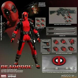 "Mezco Toyz ONE:12 X-MEN Deadpool 2 Movie 6"" Actione Figure Collection Toys Boxed"