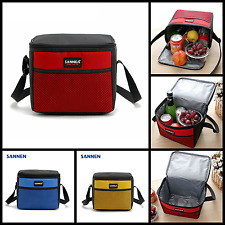 Cooler Insulated Lunch Bag Box Food Storage Containers Kids School Picnic Travel