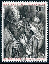 STAMP / TIMBRE FRANCE OBLITERE N 2265 TABLEAUX OEUVRE DE GUSTAVE DORE