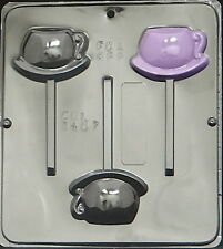 Tea Cup Lollipop Chocolate Candy Mold  3407 NEW