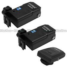 FOTGA 4 channel Wireless Flash Radio Remote Trigger PT-04 TM+ 2 Receiver Set Kit