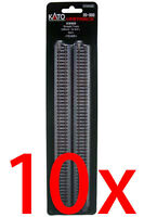 "Kato 20-000 x10 248mm (9 3/4"") Straight Track S248 (N scale)"