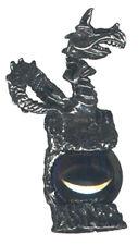 3 wholesale lead free pewter dragon figurines H8010