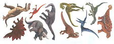Dinosaurs Glow In The Dark Wall Decor Stickers Decal Tatouage