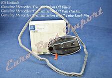 Mercedes-Benz Transmission Tranny Oil Filter + Gasket + Lock Clip Genuine OEM