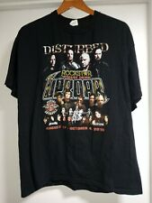 Disturbed Tshirt From Rock Star Concert 2010 Size Xl Aug 17-Oct 4, 2010