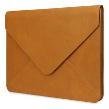 Apple Macbook Air/Pro 13 Case Water-resistant Leather Sleeve Envelope Briefcase