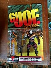 GI Joe Extreme Iron Klaw with Battle-Activated Assault Rocket