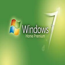 BAREBONE PC con ORIGINALE WINDOWS 7 CASA 32/64 BIT OEM COA LICENZA CHIAVE CODICE