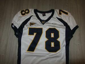 Game Used Cal California Bears NCAA College Football Jersey XL Nike Sewn Lanis