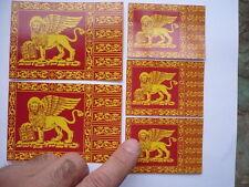 Stemma adesivo Bandiera del Veneto Leone di San Marco adesivi mini