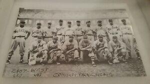 1939 ALL STAR GAME NEGRO LEAGUES TEAM PRINT LARGE 11X17 BASEBALL BLACK HISTORY