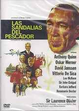 SEALED Las Sandalias Del Pescador DVD NEW Anthony Quinn English Audio SHIPS NOW