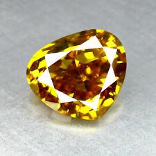 """0.21CT GENUINE 100% UNTREATED VIVID YELLOW DIAMOND """"VS1"""" CLARITY DIAMOND"""