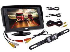 "4.3"" TFT LCD Monitor Car Rear View System Backup Reverse W/Night Vision Camera S"