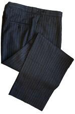 "100% Wool Morning Stripe Trousers Waist 38"" Leg 32"""