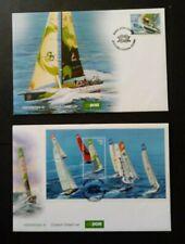 Ireland 2009 SG1962 & M/S 1963 Volvo Ocean Race on 2 FDC's