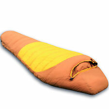 Outdoor Camping Waterproof 100% Duck Down Feather Warm Sleeping Bag w Carry Bag