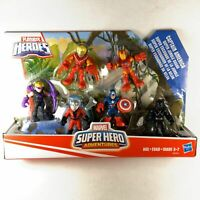 Playskool Marvel Super Hereo Adventure Vengers Set Captain America Jungle Squad