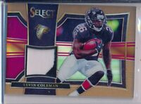 TEVIN COLEMAN - 2017 Select Bronze 2 Color Patch /49 - Atlanta Falcons SP