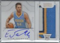 EVAN FOURNIER 2012-13 NATIONAL TREASURES RPA JERSEY PATCH AUTO RC #/99