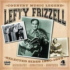 Lefty Frizzell - Country Music Legend-Selected Sides 1950-1959 [New CD]