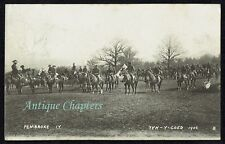 More details for 1906 pembroke yeomanry camp tyn-y-coed conwy postcard d616