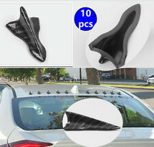 10pcs For EVO style Carbon Water Dipping Shark Fin Vortex Generator Spoiler Tip