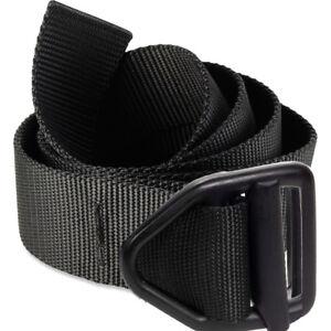 Bison Designs Last Chance Light Duty Black Buckle Belt - Black