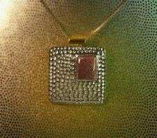 Goldstone Sterling Silver Pendant