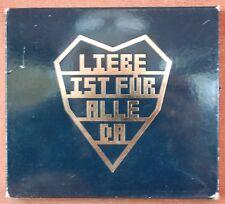 RAMMSTEIN - LIEBE IST FUR ALLE DA -  ***  DUBBEL CD  + BOOKLET  ***