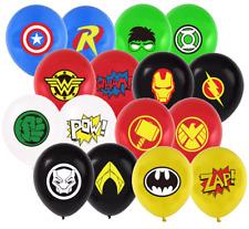 Superhero Balloons ~ Superhero Birthday Party Supplies Decorations
