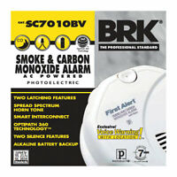First Alert Hard-Wired Photoelectric Smoke and Carbon Monoxide Alarm