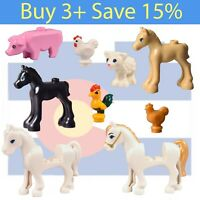 *NEW* Lego FARM ANIMAL PICK Horse Pony Ranch Friends City Girl Lamb Chicken Foal