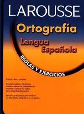 Ortografia lengua espanola: Reglas y ejercicios (Spanish Edition) by Editors of