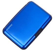 RFID Aluminium Brieftasche Kreditkartenhalter Kartenetui Metall-ID-Etui Amadeus