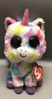 """Ty Beanie Boos WISHFUL The Unicorn 6""""New With All Tags Birthday Is November 10"""