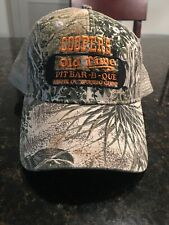 Cooper's Old Time Pit BBQ Cap Camo Hat Llano, Texas Game Guard