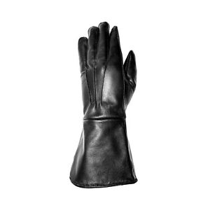 LARP LONG ARM LEATHER GLOVES MEDIEVAL RENAISSANCE COSPLAY GAUNTLETS