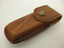 New Leatherman Vintage Original Wave brown leather sheath case Discontinued