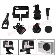 Accessories Cover Frame Mount Lens Cap J-Hook Basic Adapter for GoPro Hero3 3+ 4